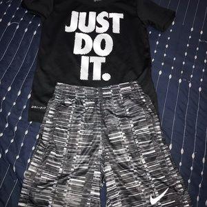 Nike short set (basketball)